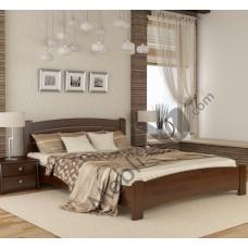Кровать серии Эстелла - Венеция - Люкс (Массив) 80х190 см
