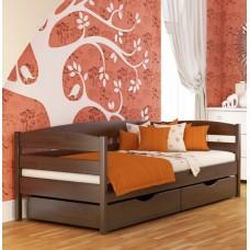 Кровать серии Эстелла - Нота - Плюс (Массив) 80х190 см