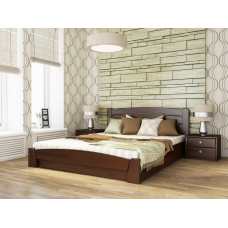 Кровать серии Эстелла - Селена Аури (Массив) 180х190 см